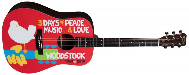 Martin DX Woodstock 50th Anniversary le