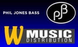 W-Music Distribution przejmuje dystrybucję Phil Jones Bass (PJB)