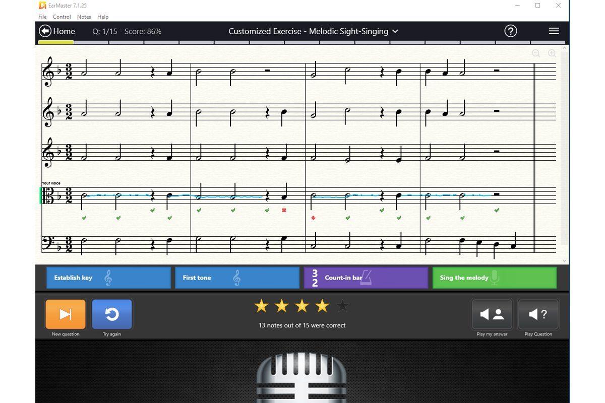 Aktualizacja EarMaster 7.1