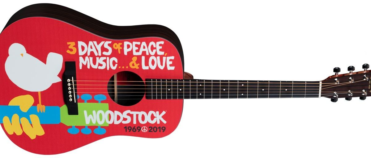 Martin D-35 Woodstock 50th Anniversary i DX Woodstock 50th Anniversary