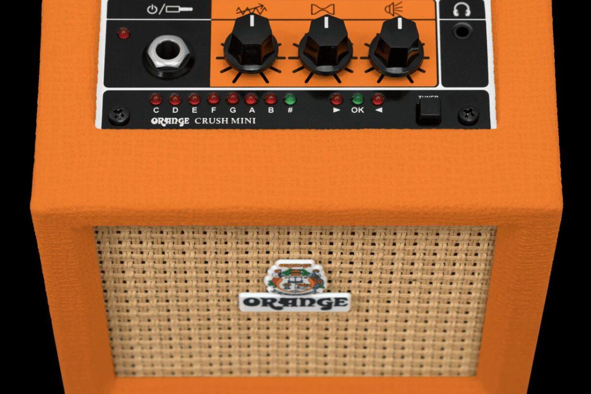 Nowa wersja wzmacniacza Orange Crush Mini już dostępna