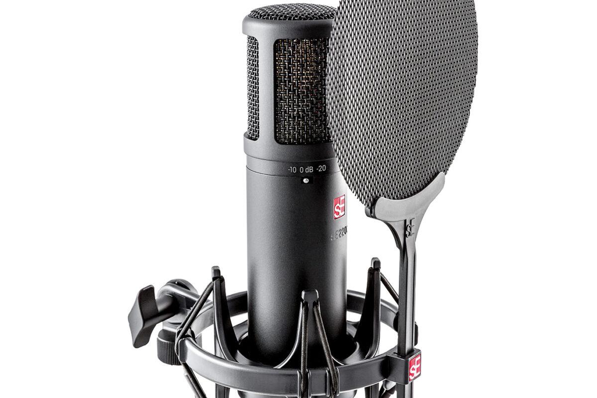 Nowy mikrofon sE 2200 do instrumentów