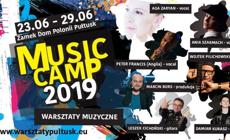 Music Camp w Pułtusku. Imponująca lista wykładowców!