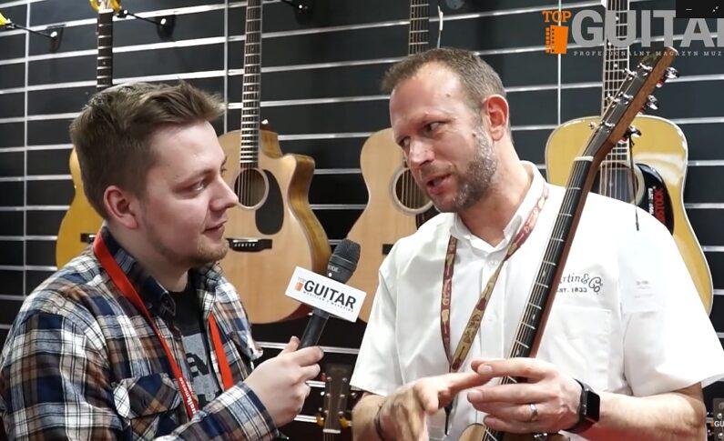 Akustyczne gitary Martin na targach MusikMesse 2019