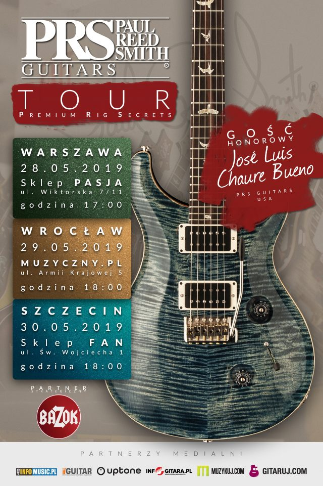PRS Guitar Tour