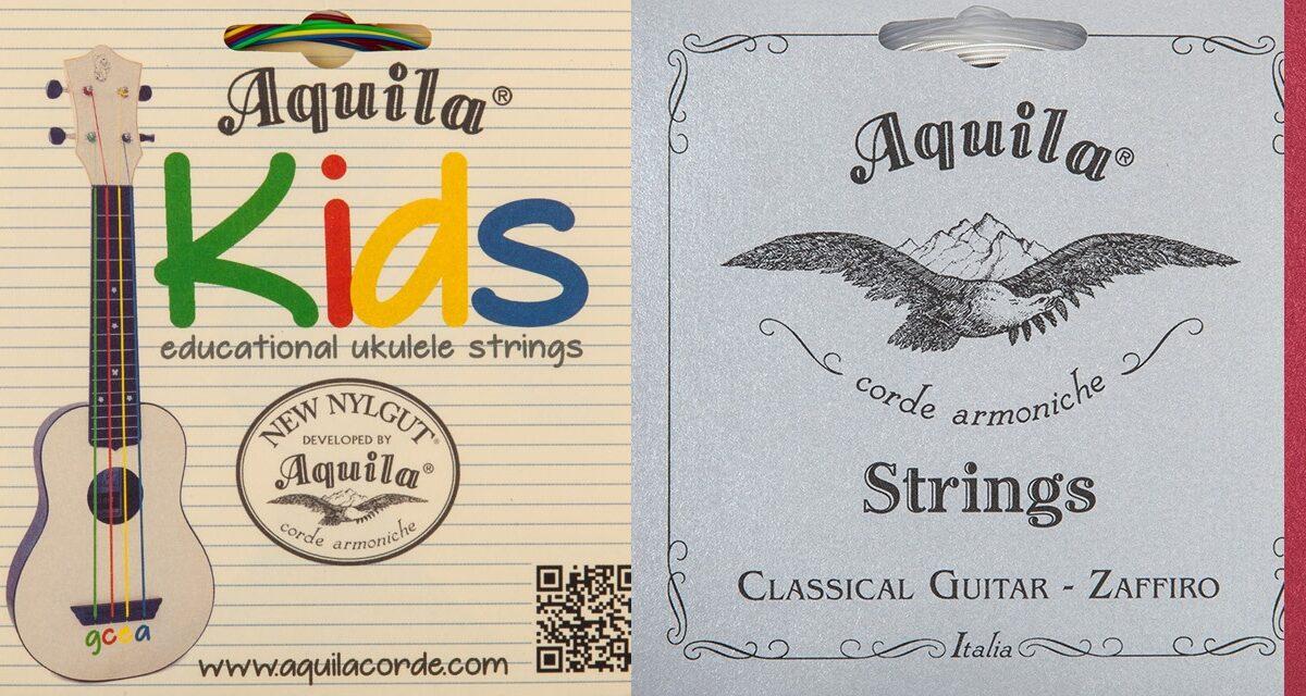 Nowe struny Aquila 2019