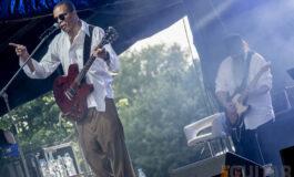Daryl Strodes zagrał na Wodecki Twist Festival