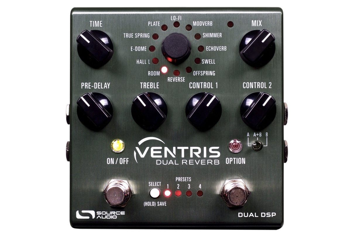 Source Audio Ventris Dual Reverb z serii One