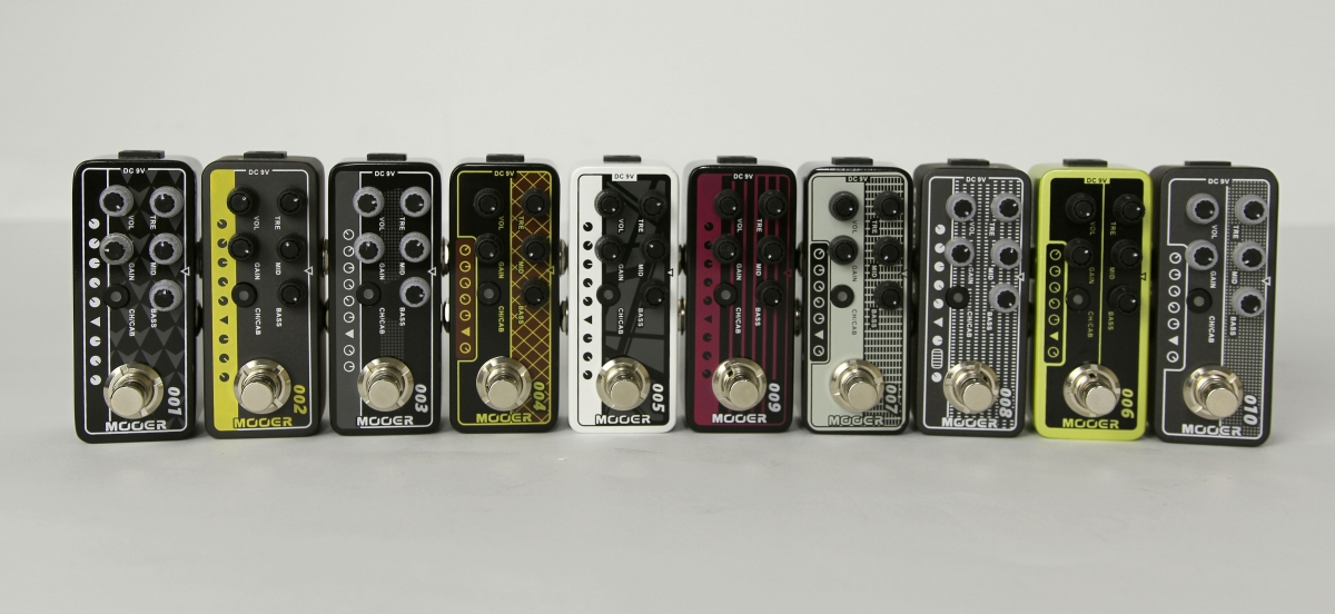 Mooer Micro Preamps – test