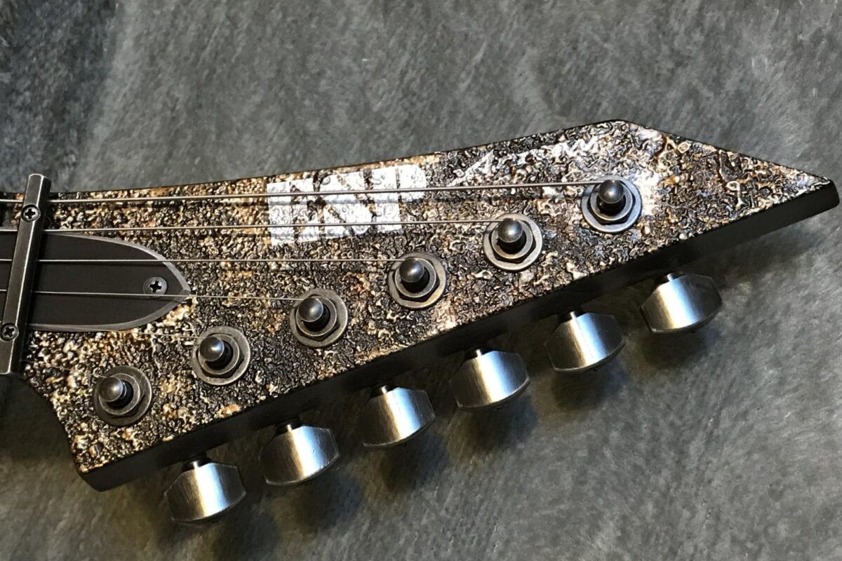 Mr. Guitarist: ESP Arrow Rusty Iron
