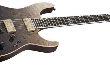 ESP E-II M-II NT Black Natural Fade - recenzja