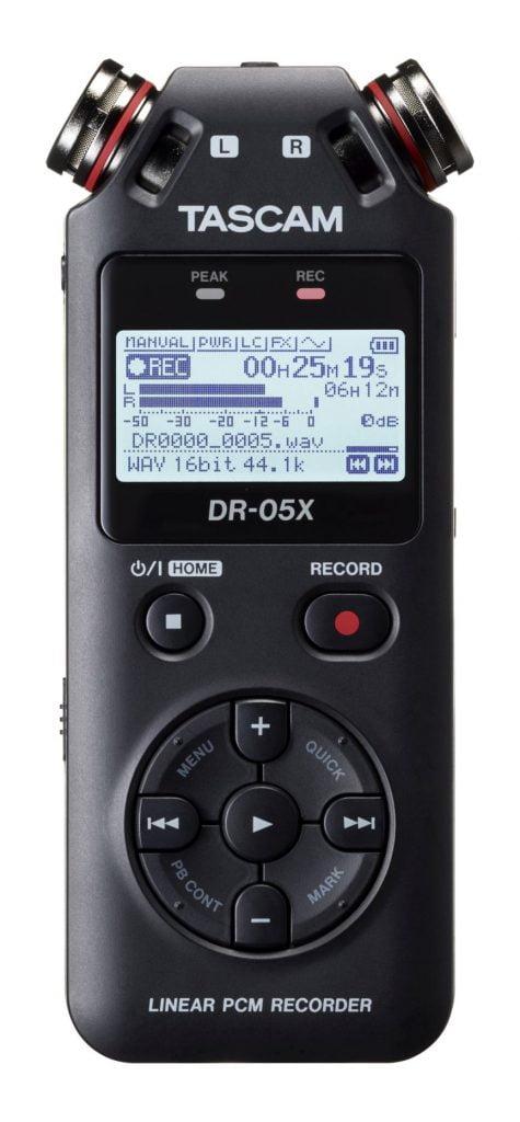 Tascam DR-05X - przenośny rejestrator audio