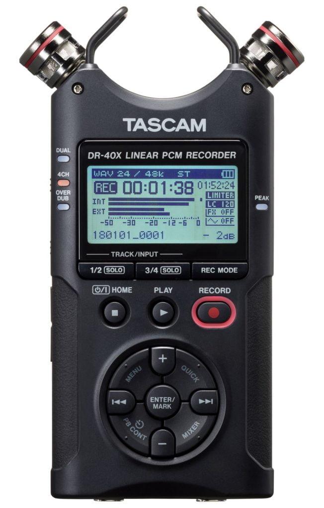 Tascam DR-40X - przenośny rejestrator audio