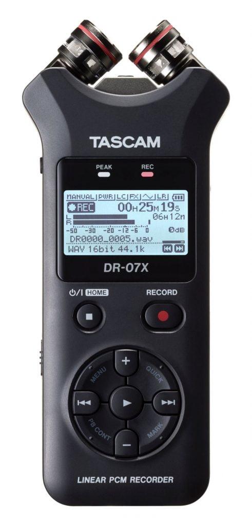 Tascam DR-07X - przenośny rejestrator audio