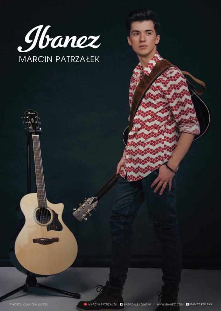 Marcin Patrzałek jest jednym z bohaterów tegorocznej edycji Kalendarza TopGuitar. Został w ten sposób wyróżniony przez firmę Ibanez, jako ich endorser. Powyżej karta z kalendarza.