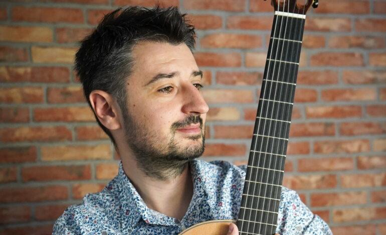 Piotr Słapa oficjalnym artystą Ortega Guitars