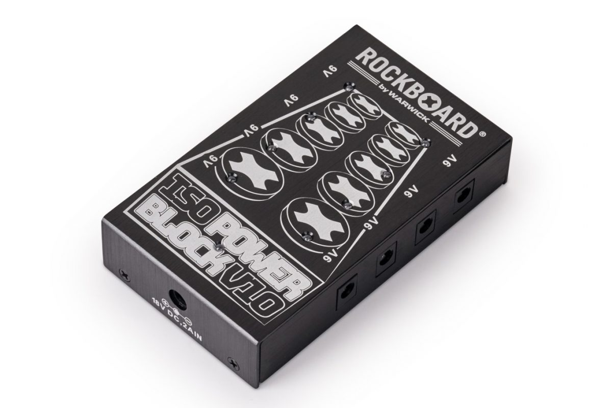 RockBoard ISO Power Block V10 – izolowany multizasilacz