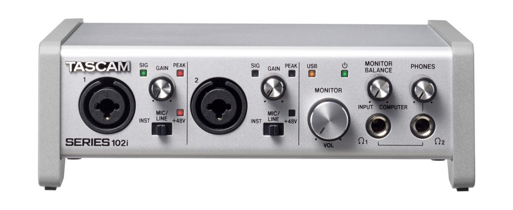 Tascam SERIES 102i - interfejs audio