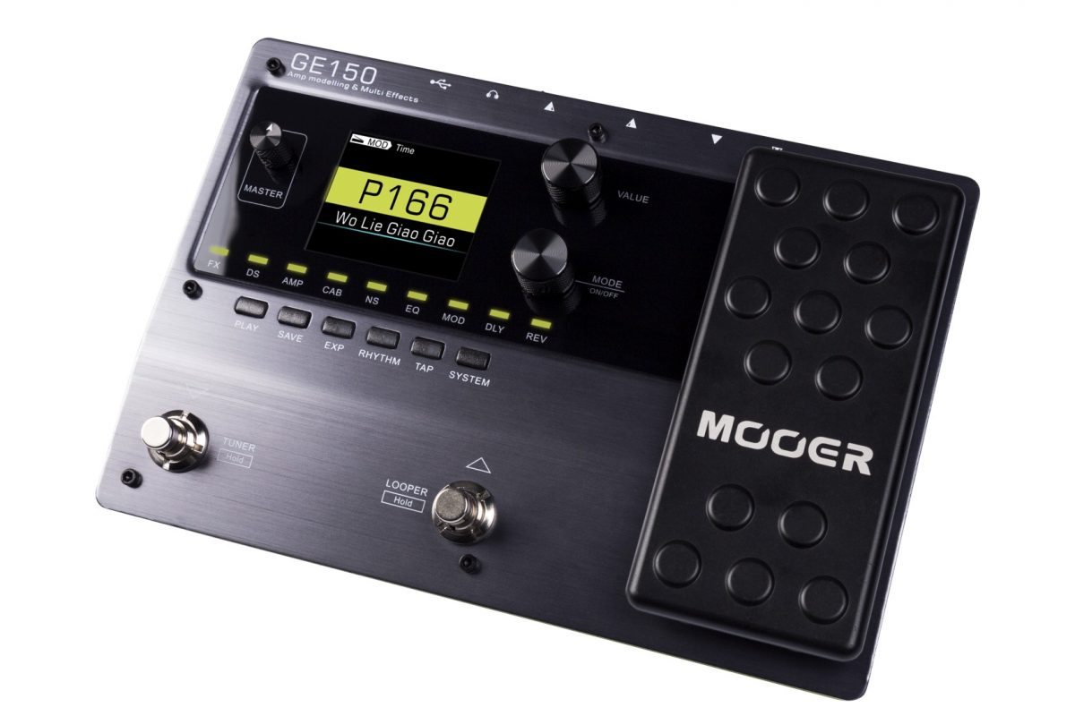 Mooer GE150 Amp Modeler oraz Multiefekt
