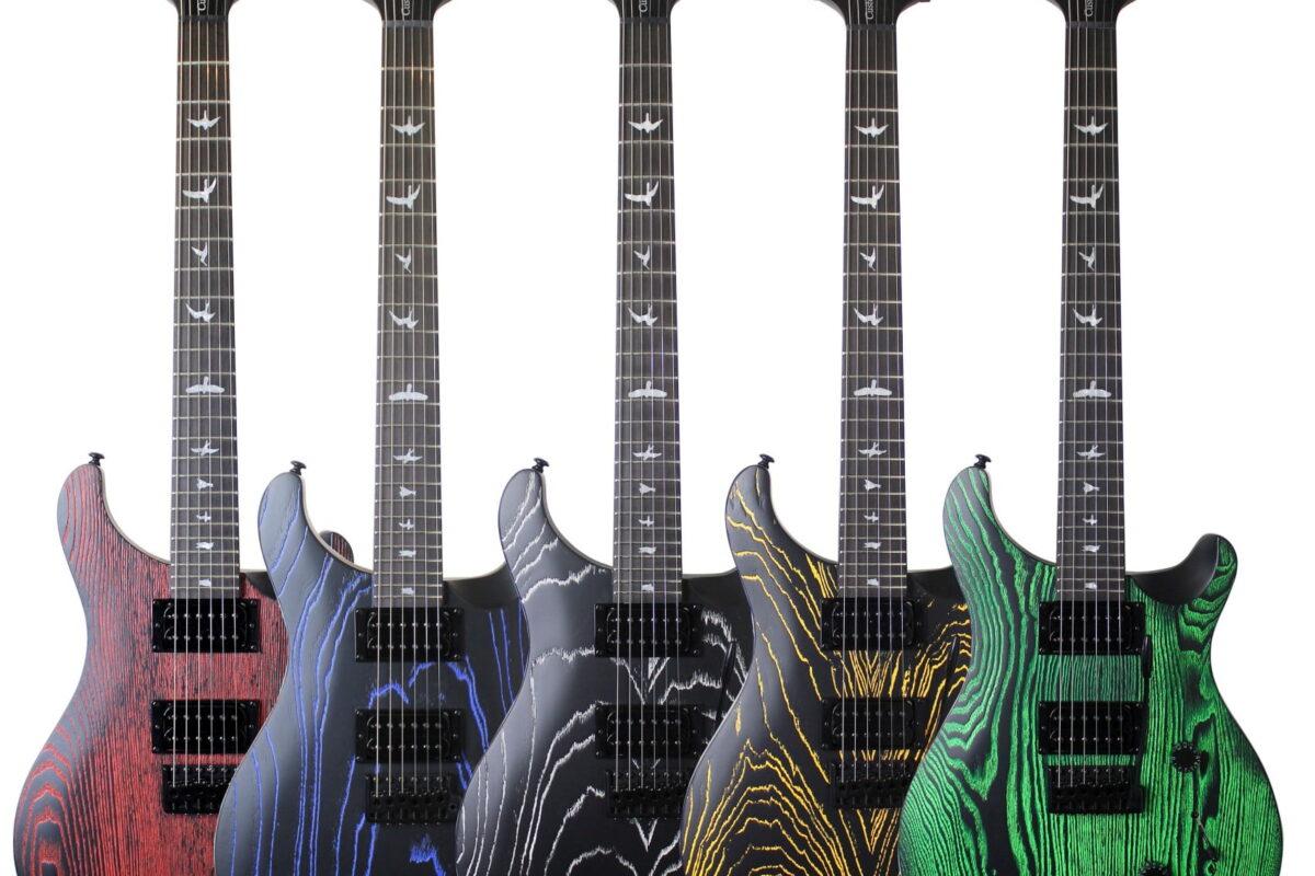 PRS Guitars SE Ltd Sand-Blasted Swamp Ash