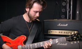 Laurence Jones i Marshall Origin 50H