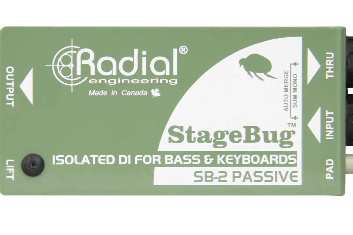 Radial Engineering StageBug