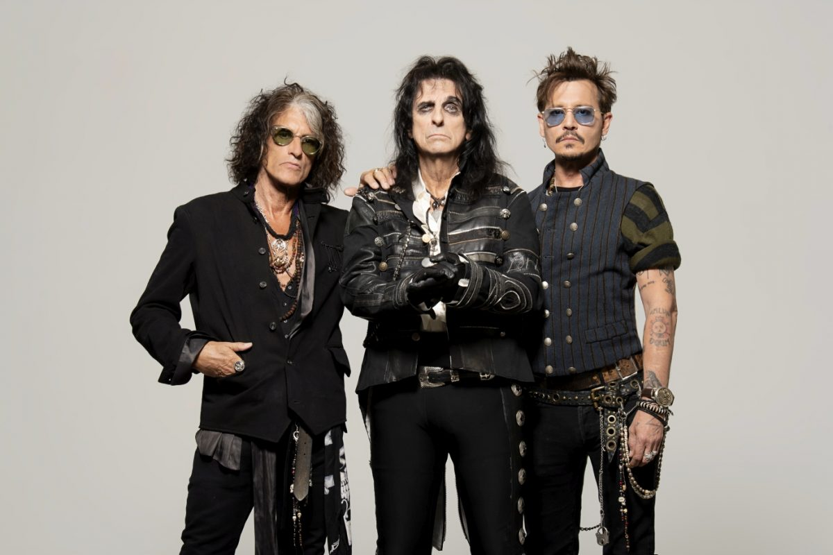 Alice Cooper, Joe Perry i Johnny Depp w Dolinie Charlotty