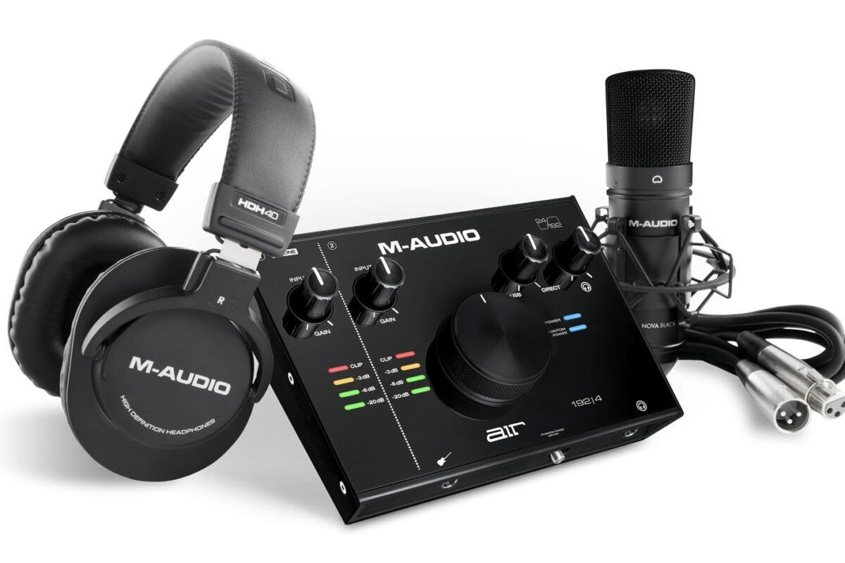 M-Audio – nowa seria interfejsów audio AIR