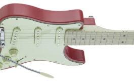 Traveler Guitar Travelcaster w kolorach specjalnie przygotowanych dla W-Music Distribution