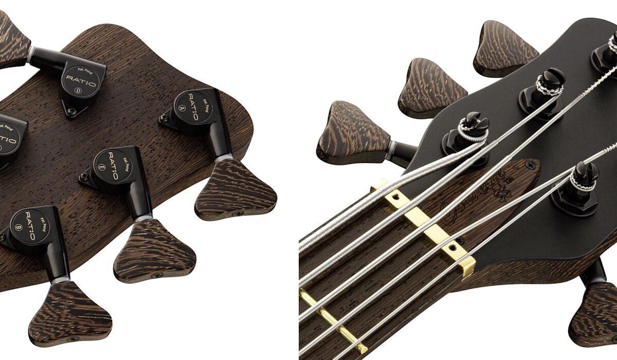 Warwick Masterbuilt – instrumenty Custom Shop od teraz z kluczami GraphTech Ratio
