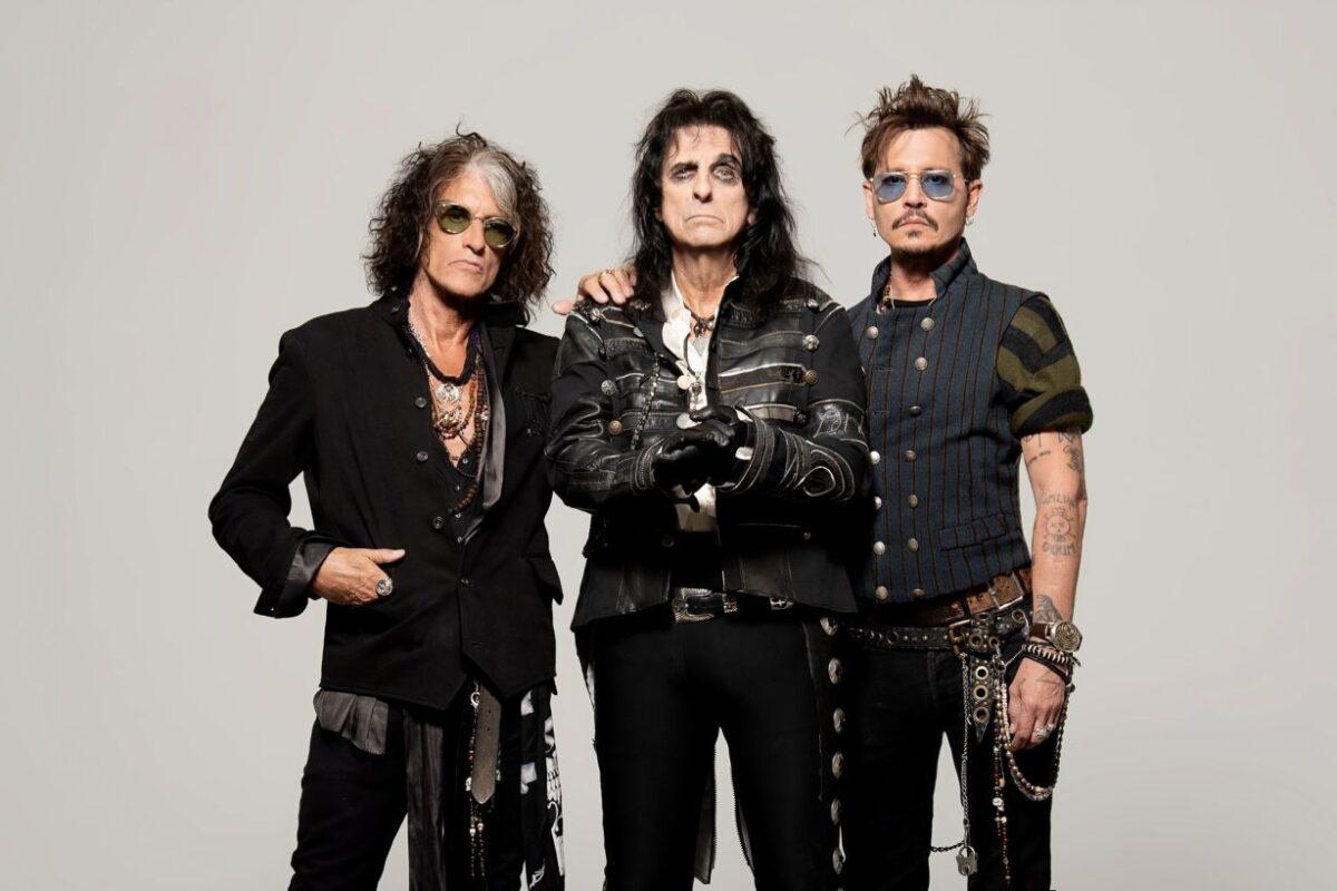 The Hollywood Vampires w Dolinie Charlotty w ramach 14 Festiwalu Legend Rocka