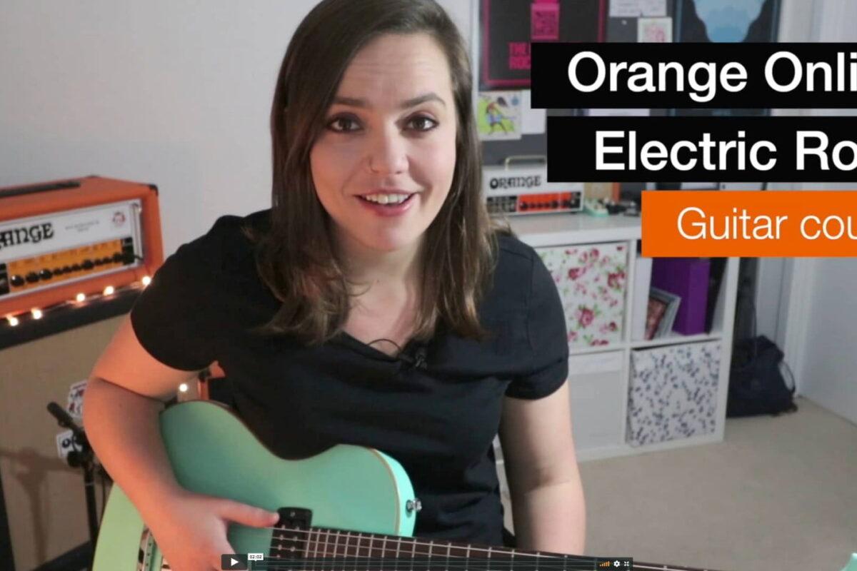 Orange Rock Guitar Course – internetowy kurs dla gitarzystów