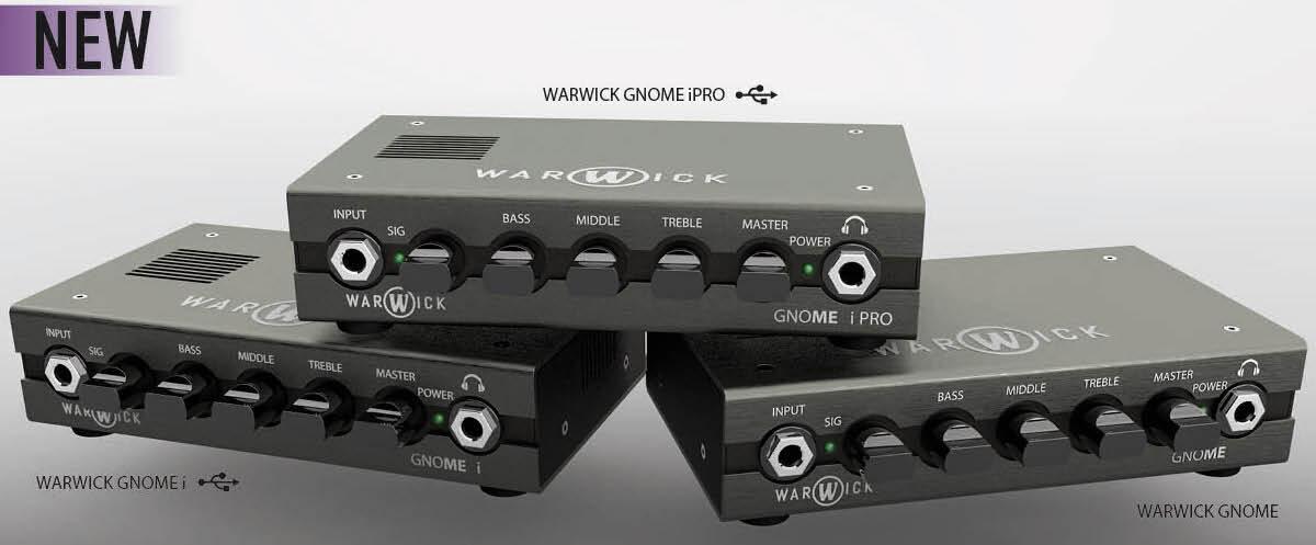Nowości NAMM Show 2020: wzmacniacze basowe Warwick GNOME