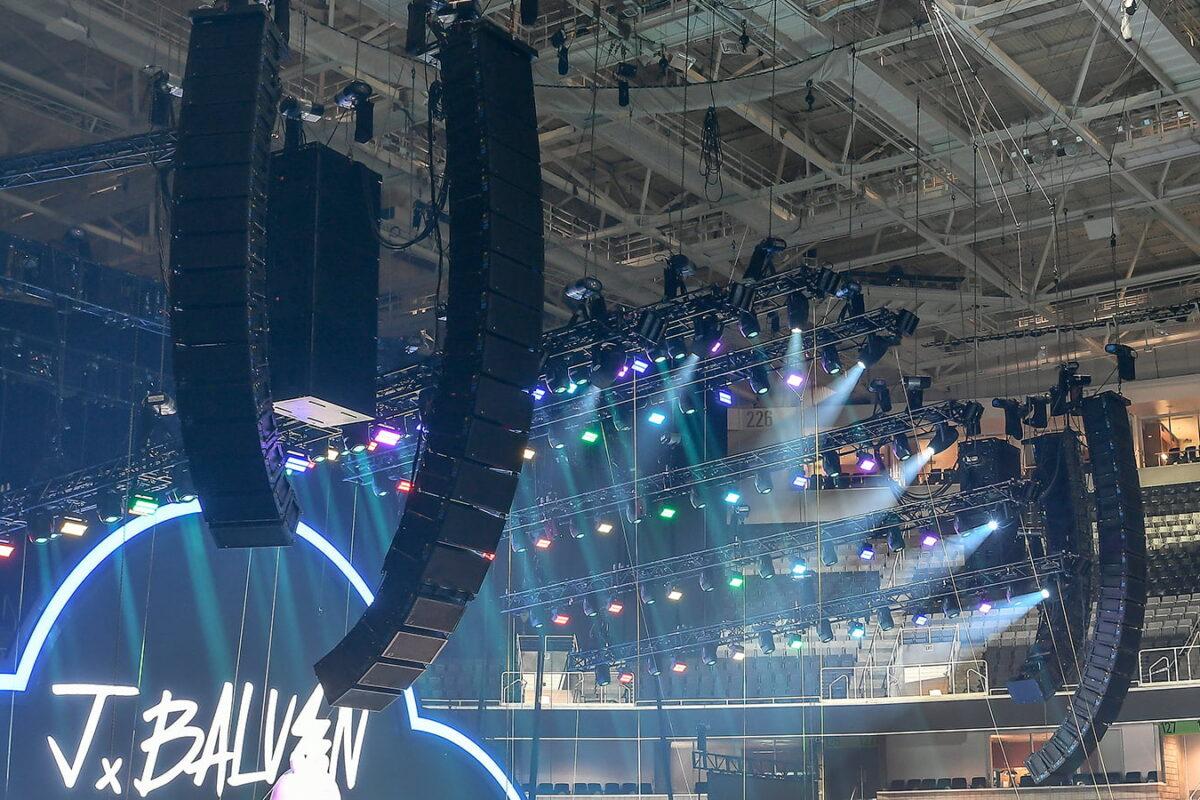 Systemy Meyer Sound LEO na północnoamerykańskich koncertach J Balvina