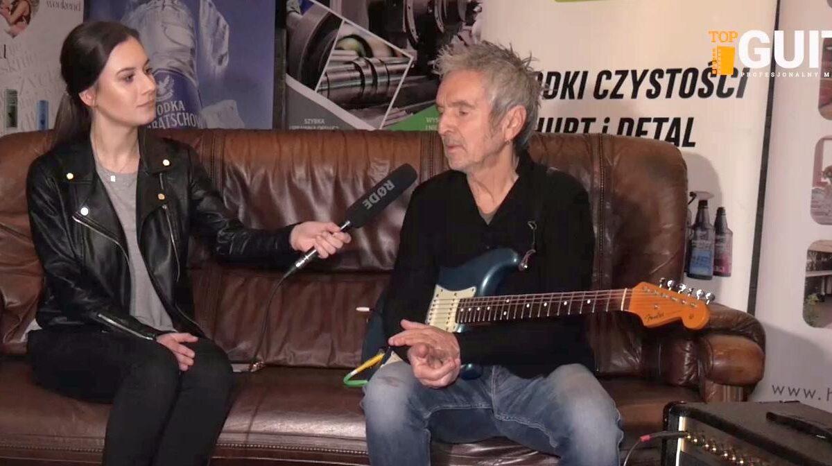 Sprzęt gitarowy Anthimosa Apostolisa (SBB)