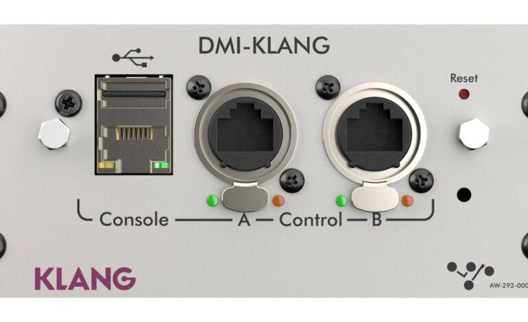 DiGiCo DMI-KLANG