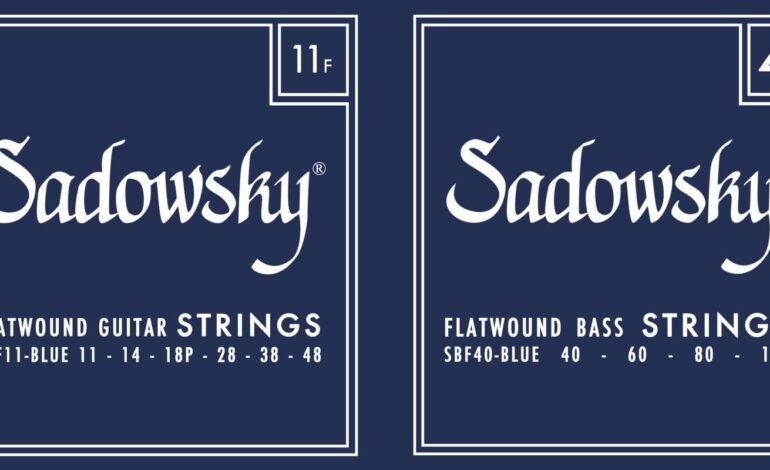 Struny Sadowsky dla gitary elektrycznej i basu