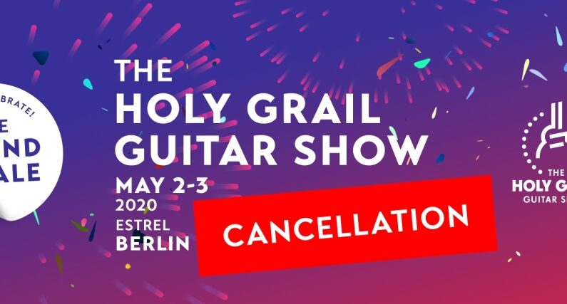The Holy Grail Guitar Show 2020 w... internecie