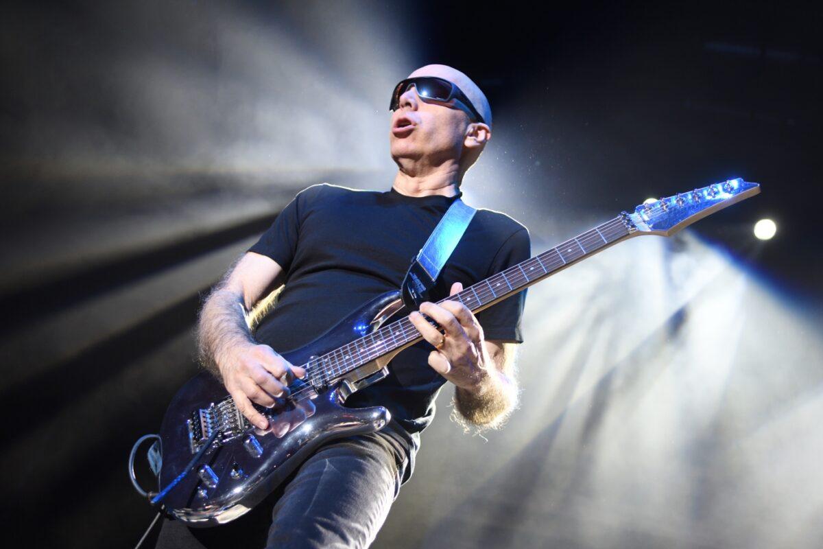 Joe Satriani o The Squares – wywiad