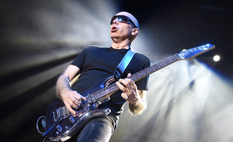 Joe Satriani o The Squares - wywiad