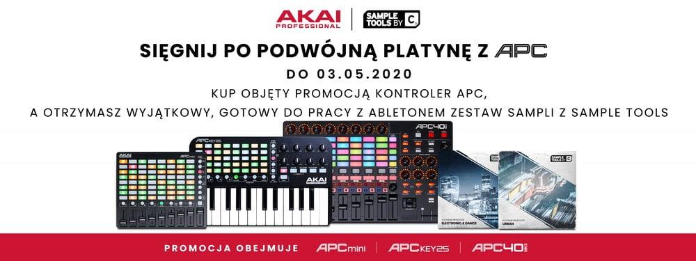 Kontrolery Akai APC – promocja
