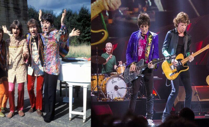 Kto był lepszy: Stonesi, czy Beatlesi?