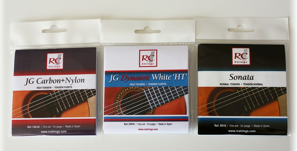 RC StringsJG Carbon + Nylon, Sonata i JG Dynamic White HT – recenzja