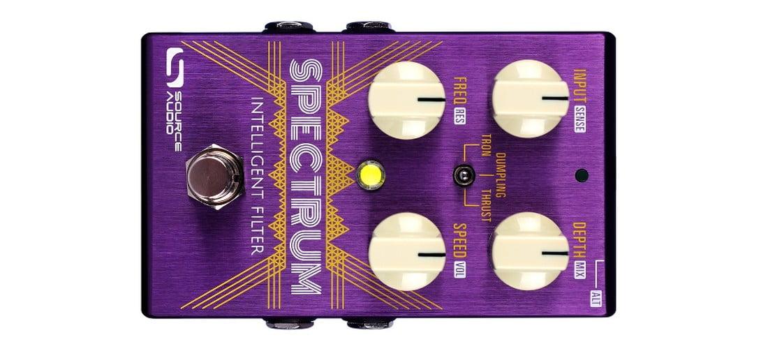 Source Audio Spectrum