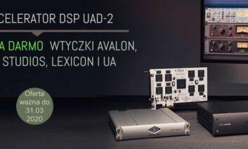 Universal Audio – promocja Blockbuster UAD