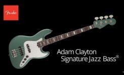 Fender prezentuje sygnaturę Adama Claytona z U2