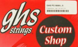GHS Custom Shop PG 8000 L 5 - recenzja