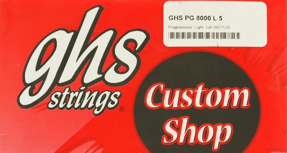 GHS Custom Shop PG 8000 L 5 – recenzja