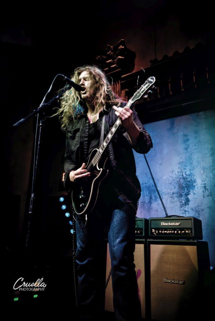 Jared James Nichols i Blackstar JJN, fot. Cruella Photography