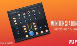PreSonus Quantum 4848 + Monitor Station V2 – promocja